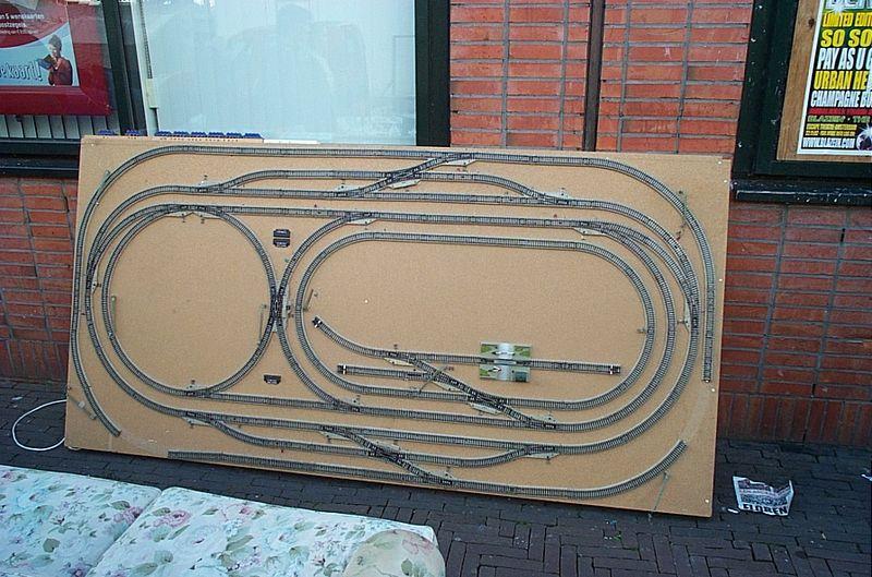 Realisation Decor Train Ho Rocher Falaise Boite D Oeuf