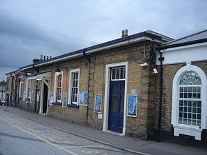Maidstone West railway station - Image: Maidstone West Station 01