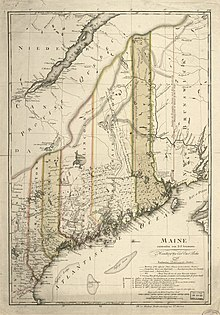State Of Maine Map With Cities.Maine Wikipedia