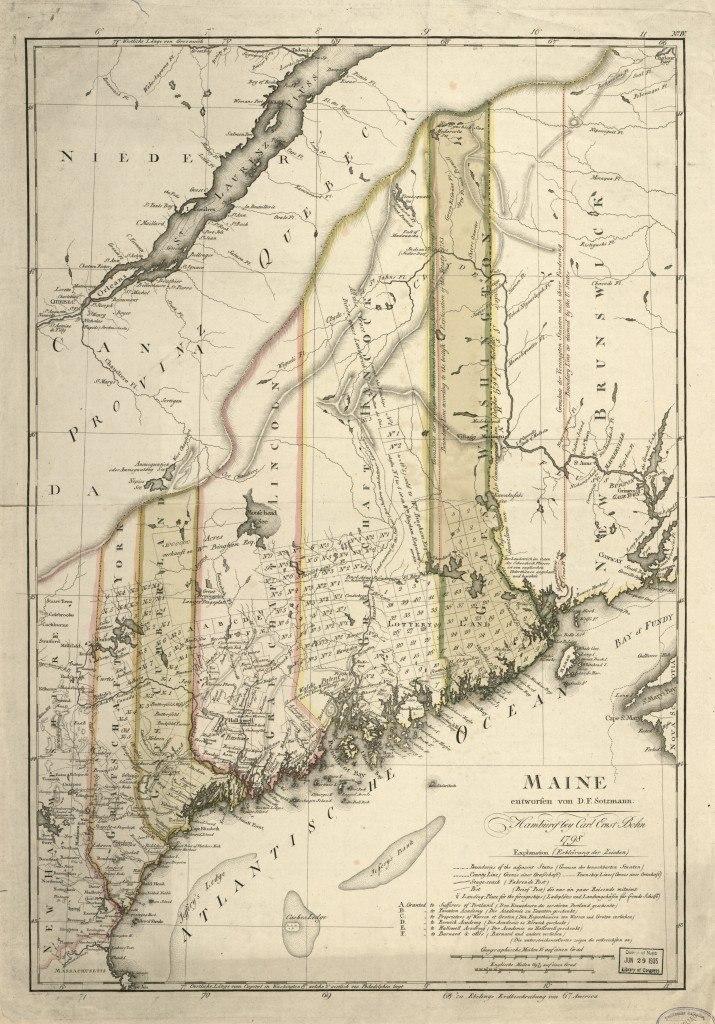 Maine 1798