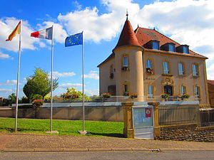 Anzeling - Image: Mairie Anzeling