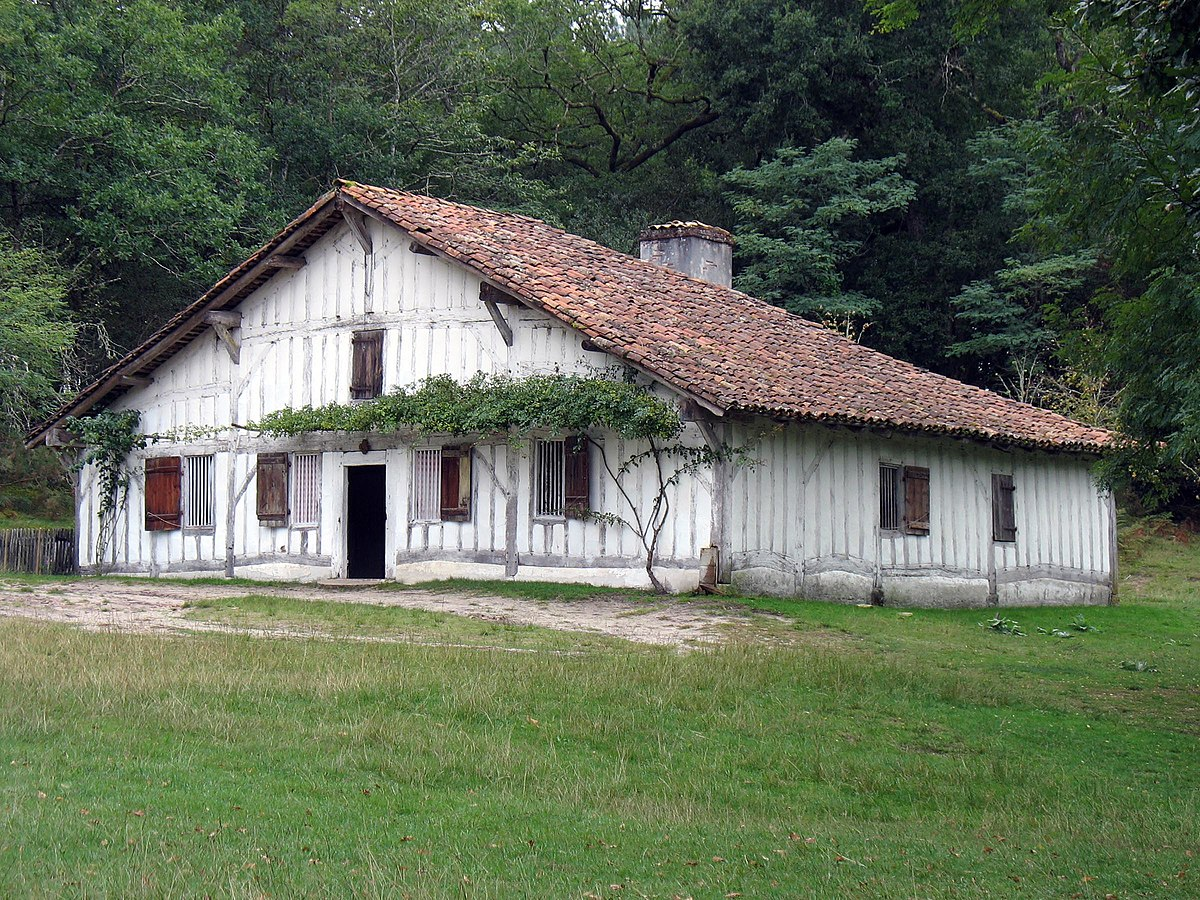 Maison landaise — Wikipédia