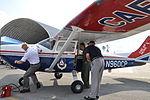 Maj. Gary Hornosky and Capt. Irv Hansen, Mississippi Wing CAP.JPG
