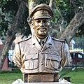 Major Hoshiar Singh statue at Param Yodha Sthal Delhi.jpg