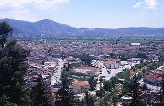 Elassona Place in Greece