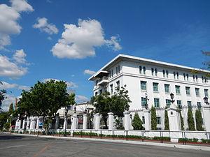 Jose Laurel Street - The Mabini Hall of the Malacañan Palace complex, at 1000 José Laurel Street