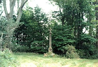 Battle of Alnwick (1093) - 'Malcolm's Cross' is said to mark the spot where Malcolm III of Scotland was killed while attacking Alnwick Castle in 1093.