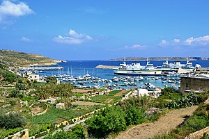 Mġarr, Gozo - The harbour of Mġarr