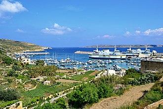 Mġarr, Gozo - The harbour of Mġarr
