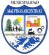 Coat of arms of Malvinas Argentinas