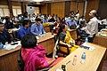 Manash Bagchi - Presentation - Technology for Museums - VMPME Workshop - Science City - Kolkata 2015-07-16 9181.JPG