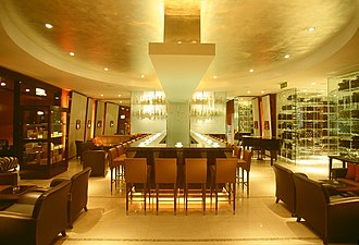 Mandarin Oriental Hyde Park, London - Image: Mandarin Oriental London Mandarin Bar