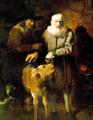 Mann mit Kälbchen (Christoph Paudiss).png