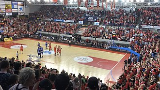 2017–18 LEB Oro season - ICL Manresa beat Club Melilla Baloncesto in the do-or-die game for promotion.