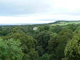 Balcarres House - Image: Mansion in the trees geograph.org.uk 1465362