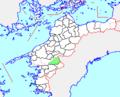 Map.Shirokawa-Town.Ehime.PNG