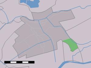 Bonrepas - Image: Map NL Vlist Bonrepas