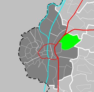 Amby - Image: Map NL Maastricht Amby