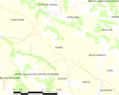 Map commune FR insee code 64450.png