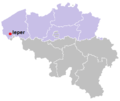 Map of Ieper in belgium-viol-reddot-t.png