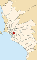 Map of Lima highlighting San Borja.PNG