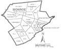 Map of Monroe County, Pennsylvania.png