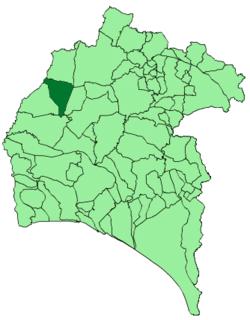 Santa Bárbara de Casa municipality of Spain