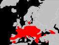 Mapa Myotis bechsteinii.png