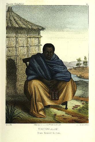 Marabout - A toucouleur marabout, (1853)