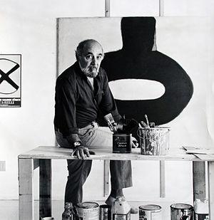 Conrad Marca-Relli - Conrad Marca-Relli in 1982 in his studio