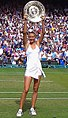 Maria Sharapova Wimbledon 2004 trophy.jpg