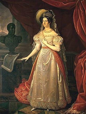 Maria Cristina of Savoy - Maria Cristina as queen