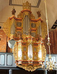 photo : orgue de la Marienkirche