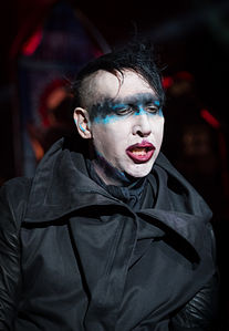 Marilyn Manson Thumb Ring