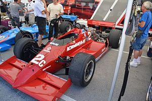 Newman/Haas Racing - Image: Mario Andretti 1985Lola