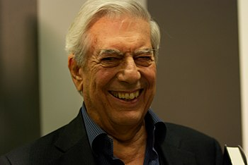 English: Mario Vargas Llosa at Göteborg Book F...