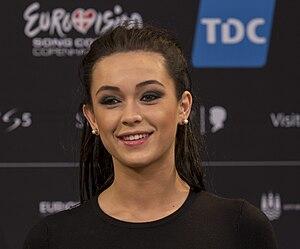 Mariya Yaremchuk - Image: Mariya Yaremchuk, ESC2014 Meet & Greet 01 (crop)