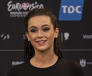 Mariya Yaremchuk Ukrainian pop singer who represented Ukraine in Eurovision 2014