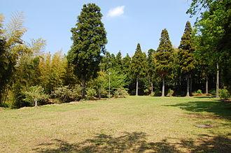 Takeda clan - Site of Mariyatsu Castle, base of the Kazusa Takeda clan, Kisarazu, Chiba Prefecture