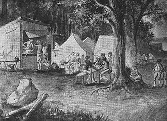 1790 in Sweden - Marketenteri by Pehr Nordqvist 1790s