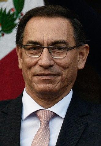 Vice President of Peru - Image: Martín Vizcarra em julho de 2016