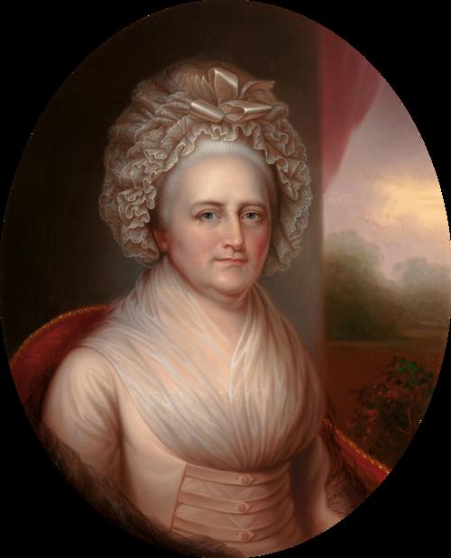 マーサ・ワシントン(Martha Washington)Wikipediaより