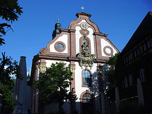 Ettlingen - St. Martin's Church (Martinskirche)