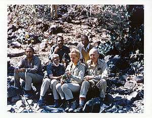 Salim Ali - With Mary and Dillon Ripley on a collection trip (1976)