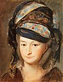Maryja Tereza Tyškievič (Paniatoŭskaja). Марыя Тэрэза Тышкевіч (Панятоўская) (K. Wojniakowski, 1797).jpg
