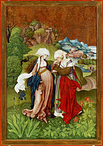 Master MS, Marten Schwartz - The Visitation, from Selmecbánya - Google Art Project.jpg