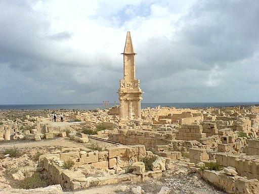Mausoleum of Bes (Sabratha, Az Zawiyah, Libya)