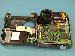 Sony Mavica - Inside the Sony Mavica MVC-FD7 Digital camera from 1997