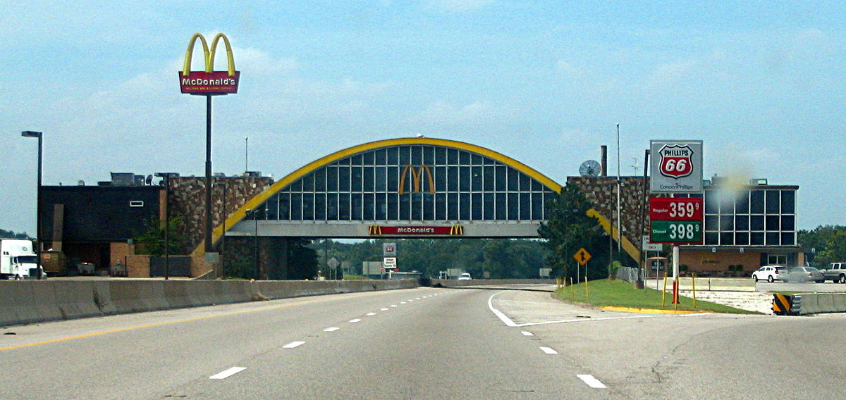 Mcdonalds Standorte Autobahn