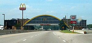 Vinita, Oklahoma - McDonald's over I-44, 2008